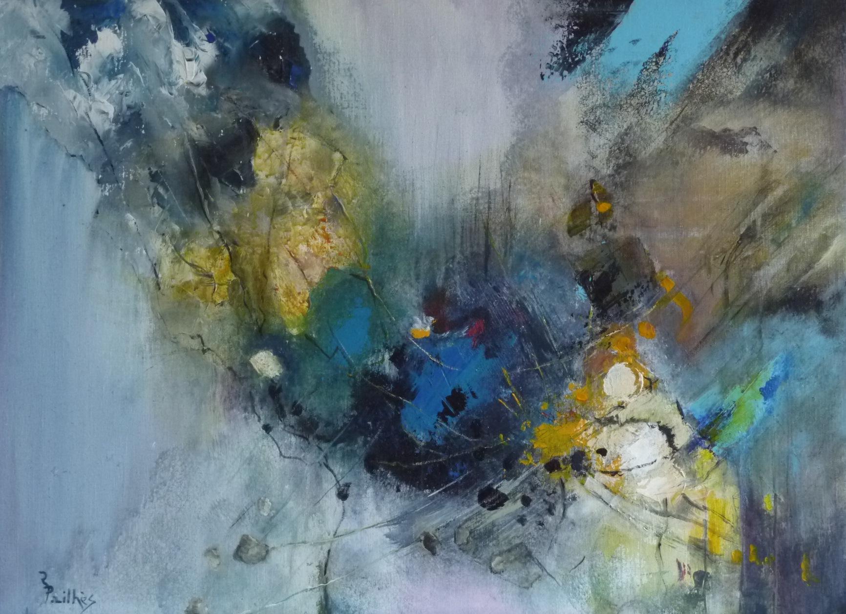 Coups de c ur d hier ren pailh s artiste peintre - Les plus beaux tableaux abstraits ...